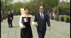 Le 20 heures du 24 avril 2015 : Hollande en visite à Erevan pour les 100 ans du génocide arménien - 695.5599999999998