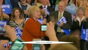 Primaires US : Clinton sous pression devant la remontée de Sanders