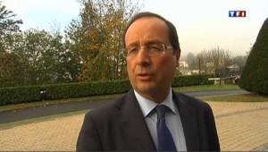 François Hollande, président du Conseil général de Corrèze, candidat socialiste à la présidentielle.