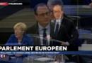 """Hollande devant le Parlement européen : """"Il faut vivre avec la peur"""""""