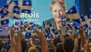 La dirigeante du Parti québécois (PQ, indépendantiste) Pauline Marois est devenue la première femme chef de gouvernement de l'histoire de la province francophone.