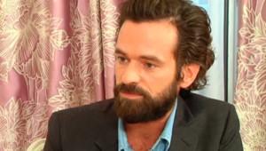 Romain Duris en interview pour le film Une nouvelle amie