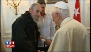 Benoît XVI et Fidel Castro, les images de la rencontre
