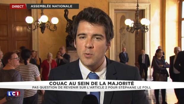Loi Travail : Bruno Leroux favorable à une évolution de l'article 2