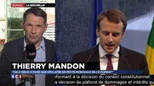 """Mandon : """"Je n'ai pas vu d'attaque frontale"""" de Macron sur les 35 heures"""