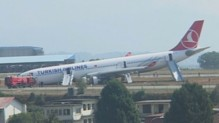 Un avion est sorti de piste à Katmandou.