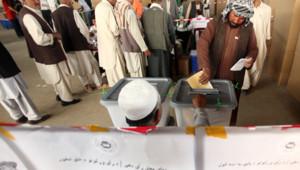 afghanistan présidentielle vote kaboul