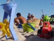 Le 20 heures du 31 juillet 2014 : Vacances : comment occuper vos enfants sur les plages ? - 1142.745