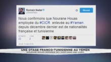 Le gouvernement a confirmé ce vendredi qu'une française était retenue depuis 5 mois en otage au Yémen