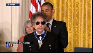 Barack Obama décerne la médaille de la liberté à Bob Dylan