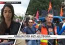 Manifestation contre la loi Travail: entre 14.000 et 55.000 manifestants à Paris