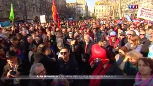 """Scandale des """"boues rouges"""" : un millier de manifestants à Marseille"""