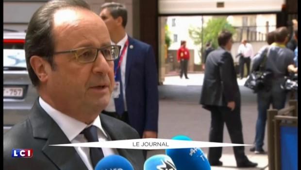 """Brexit: """"Il n'y pas de temps à perdre"""" pour François Hollande"""