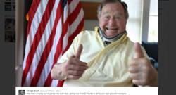 George H. W. Bush Etats-Unis président