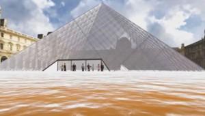 La ville se prépare à crue du siècle : découvrez les images virtuelles de Paris sous les eaux