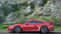 Porsche 911 GT3, version orientée circuit au 6 cylindres porté à 475 ch, lancée au printemps 2013