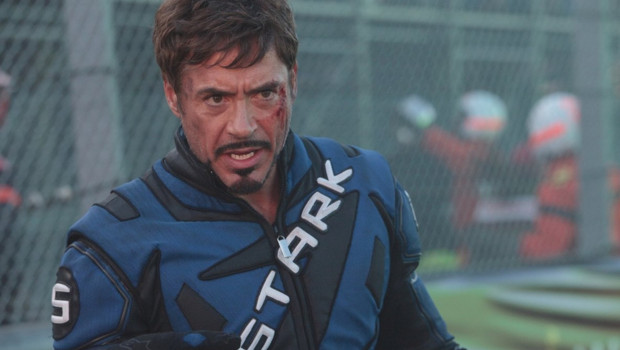 Robert Downey Jr. dans le film Iron Man 2