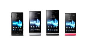 Les téléphones Xperia de Sony
