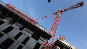 Une grue de chantier (archives).