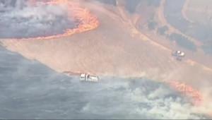 Le 20 heures du 4 janvier 2015 : Incendies en Australie : les flammes ravagent le sud du pays - 373.6523327331543