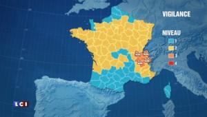 Rhône-Alpes : quatre départements placés en vigilance orange aux pluies et inondations