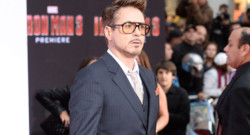 Robert Downey Jr. à l'avant-première du film Iron Man 3 à Hollywood en mai 2013.