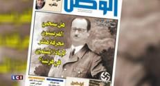 Un magazine marocain compare Hollande à Hitler... découvrez les images