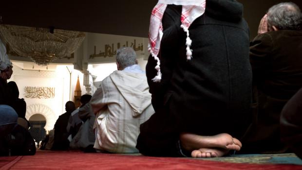 Une mosquée à Lyon