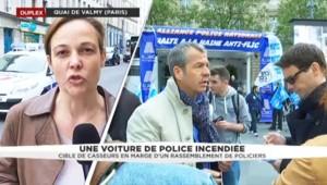Voiture de police incendiée : le parquet de Paris ouvre une enquête pour tentative d'homicide