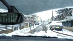 La neige revient
