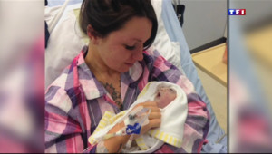 Le 20 heures du 24 avril 2015 : Royaume-Uni : un bébé de deux heures est devenu le plus jeune donneur d'organes du pays - 1017.452