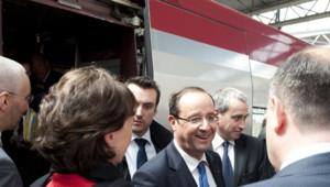 François Hollande à Bruxelles, le 23 mai 2012.