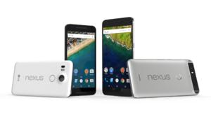 Les smartphones Nexus 5X et 6P annoncés par Google