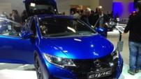 Mondial de l'Automobile 2014 - Honda Civic restylée