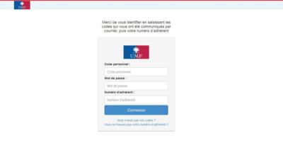 Page d'accueil du vote pour la présidence de l'UMP, 28/11/14