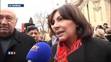 Anne Hidalgo joue les mères Noël pour le Secours populaire