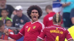France-Belgique : Revoir le but de Fellaini en vidéo (0-1)