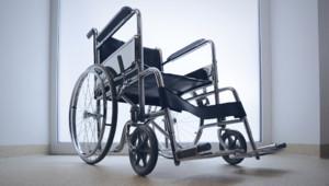 Illustration. Un fauteuil roulant