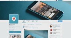 Capture d'écran du compte Twitter de Periscope.