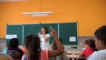 Classe d'école primaire à Marseille, le 1er septembre 2015