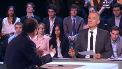 """Hollande sur MYTF1News : la réforme des rythmes scolaires """"ne sera pas mise en cause"""""""