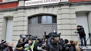 L'audition de DSK se déroulait dans la caserne de gendarmerie de Lille