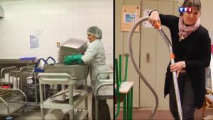 Le 20 heures du 6 mars 2014 : Elle cumule trois emplois pour gagner 1.100 euros par mois - 776.823