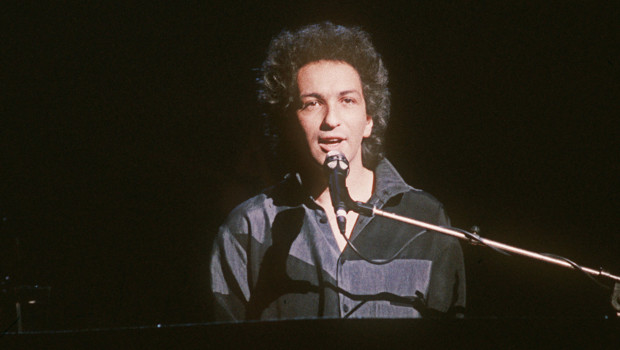 Le chanteur Michel Berger