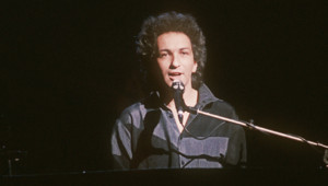 Le chanteur Michel Berger