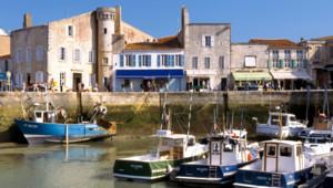Le port de Saint-Martin-de-Ré (Île de Ré)