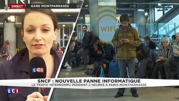 Reprise du trafic gare Montparnasse