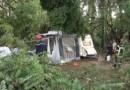 Une mini-tornade s'abat sur des campings de l'Ardèche
