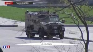 Washington : un homme armé arrêté dans le Capitole