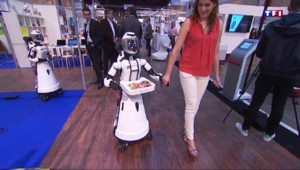 À Paris, les machines envahissent le salon Inn-Robot